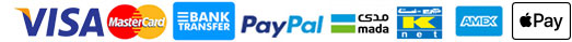 Pay with Bank Transfer, Credit Card and Paypal